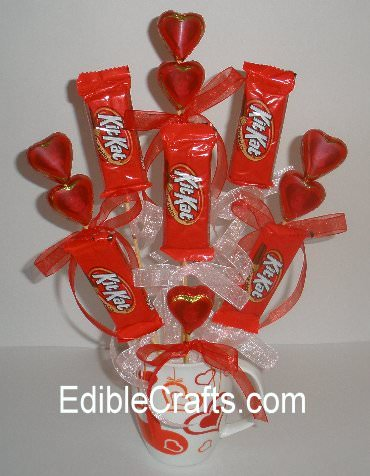 Beautiful Valentine S Day Candy Bouquet Tip Junkie