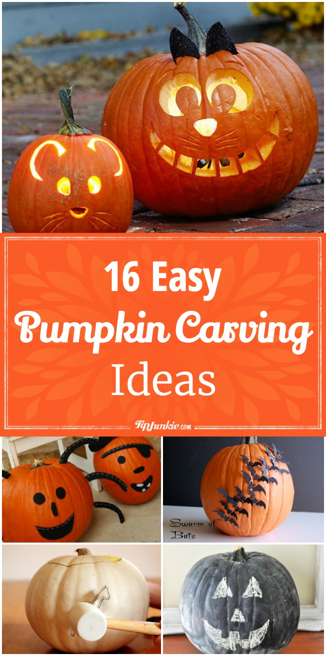 Easy pumpkin carving ideas tip junkie