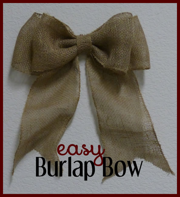 How To Make An Easy Bow For Wreaths Amp Home Decor Tip Junkie
