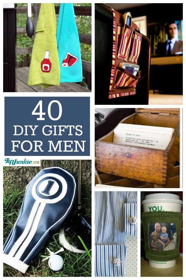 Gifts for Men - 40 Homemade Christmas Gift Ideas For Men €� Tip Junkie