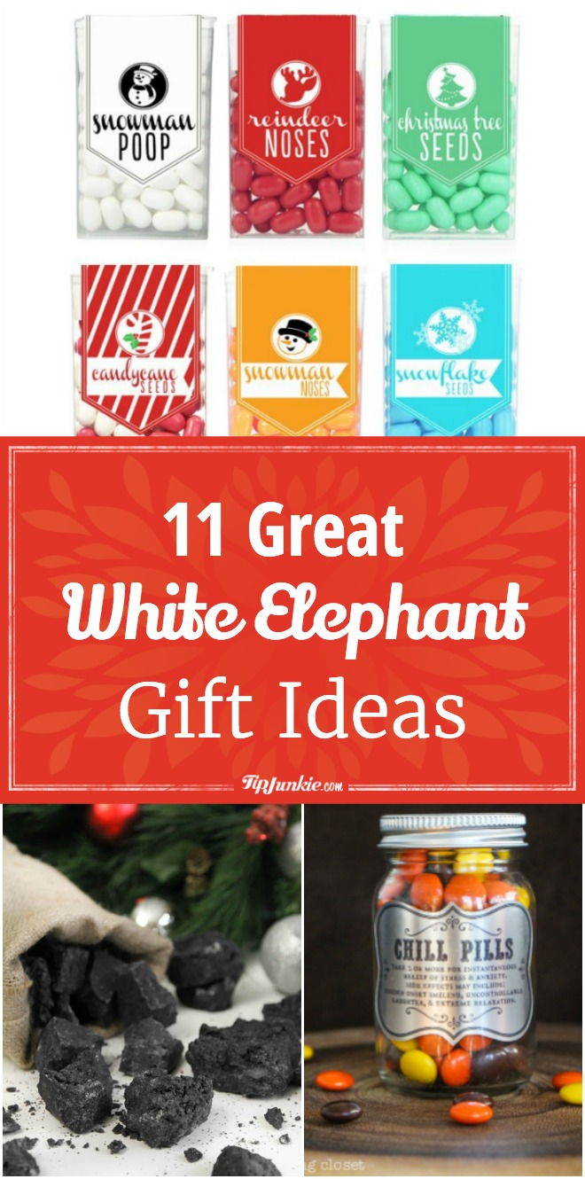 11 Great White Elephant Gift Ideas – Tip Junkie