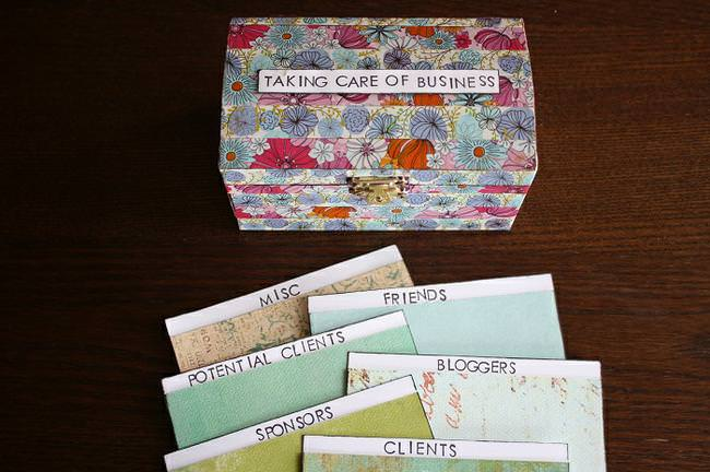 DIY Business Card Holder – Living YOUR Creative 19-JPG