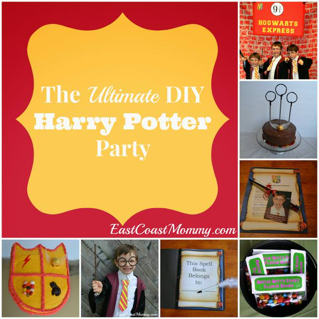 ultimate diy harry potter party-jpg