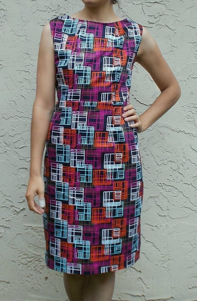 Pam dress free sewing pattern and tutorial | Tip Junkie