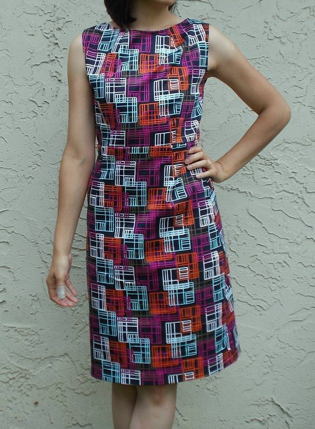 Pam Dress Free Sewing Pattern And Tutorial Tip Junkie
