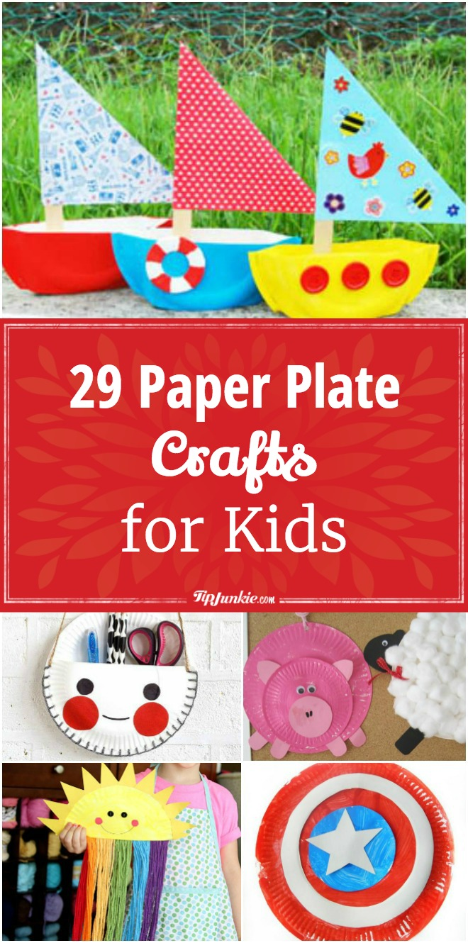 29 Paper Plate Crafts for Kids