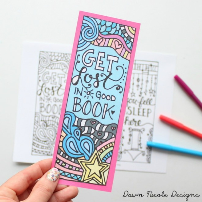 23 Printable Bookmarks Perfect for the Book Lover | Tip Junkie