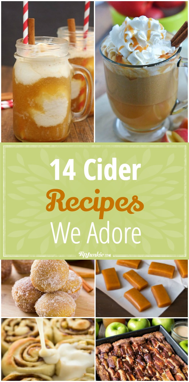 14 Cider Recipes We Adore