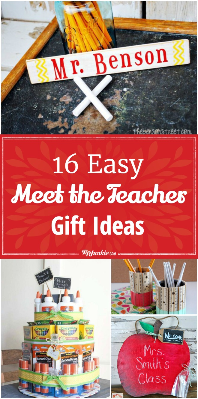 16 Easy Meet the Teacher Ideas