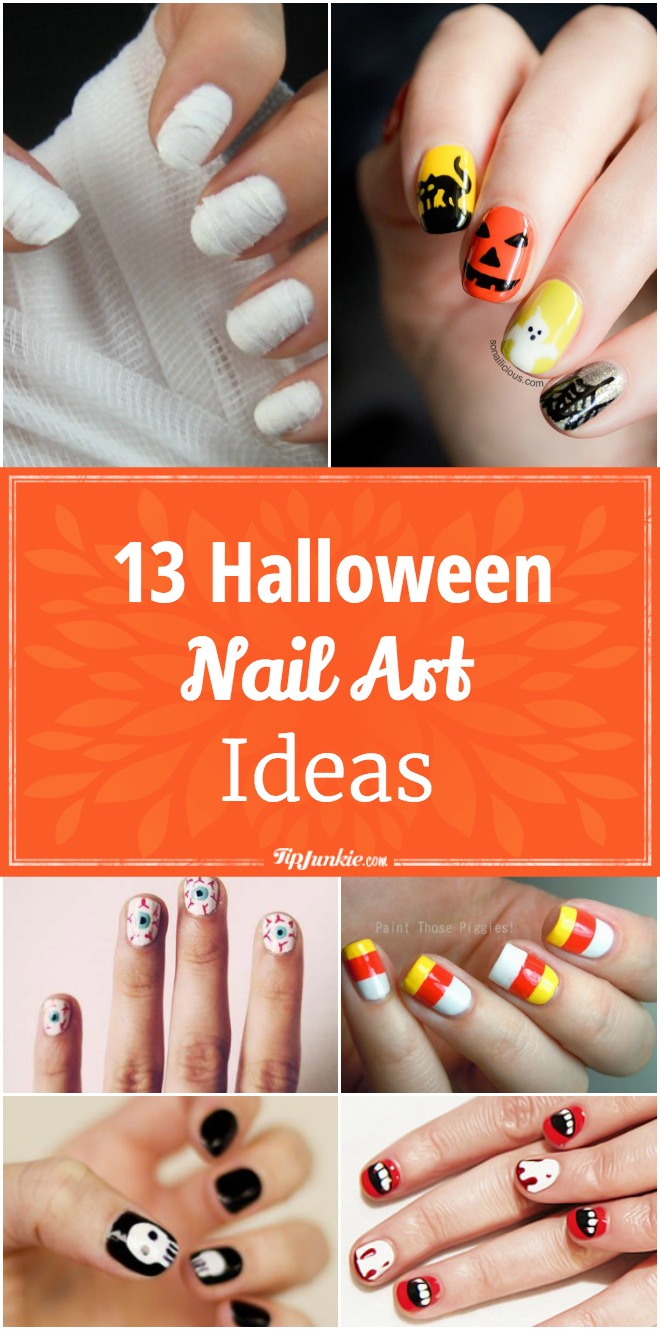 13 Halloween Nail Art Ideas
