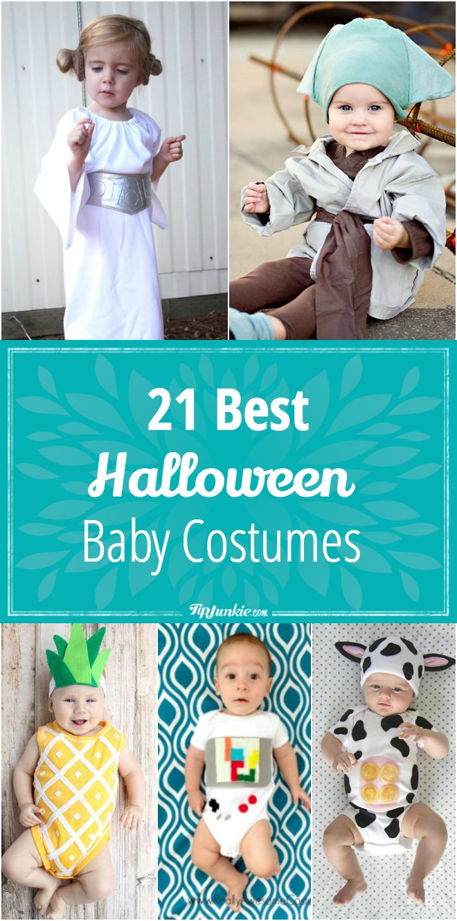 Check out these 21 easy costume ideas to dress up your baby this Halloween. So adorable!