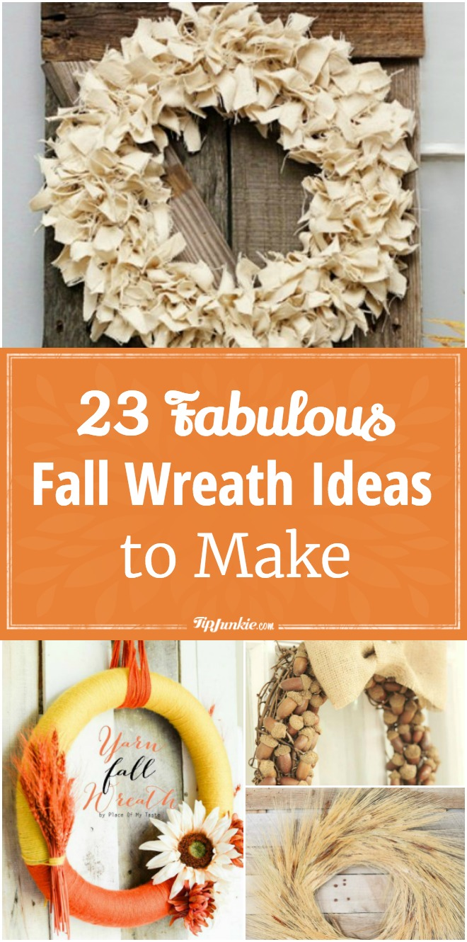 23 Fabulous Fall Wreath Ideas to Make