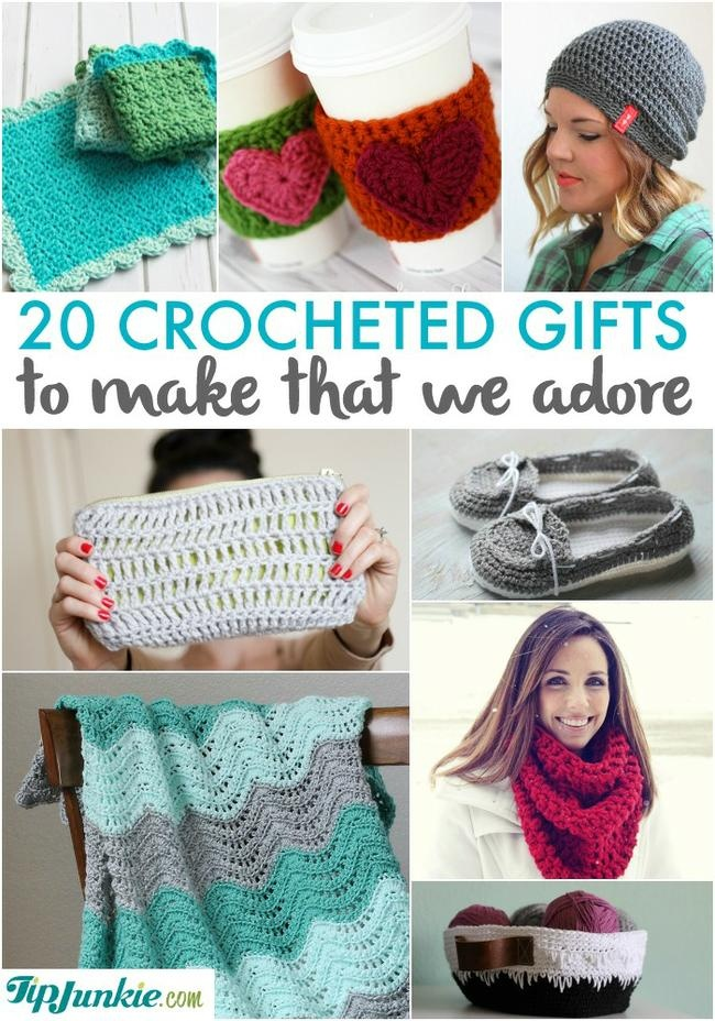 20 Crocheted Gifts To Make That We Adore Tip Junkie
