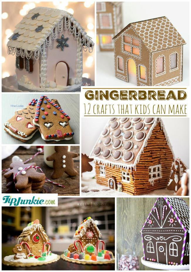 12 Gingerbread Crafts that Kids Can Make