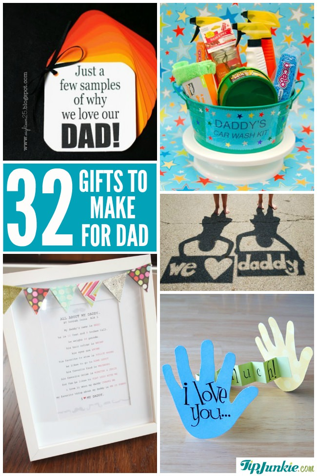 Crafts For Dad: 32 Best Homemade Fathers Day Gifts