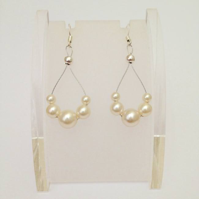 Beaded Teardrop Earrings-jpeg