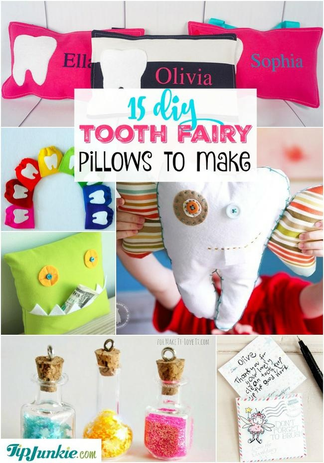 DIY Tooth Fairy Pillows to make!
