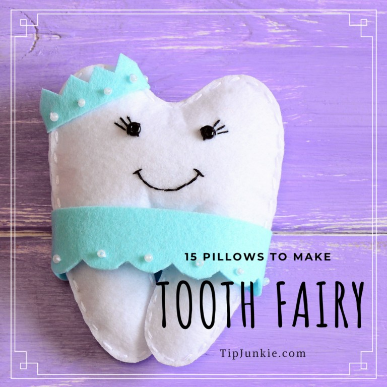 15 DIY Tooth Fairy Pillows to Make