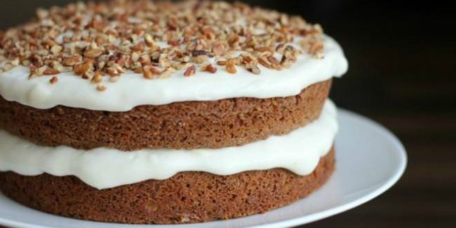Amazingly Moist Carrot Cake Recipe