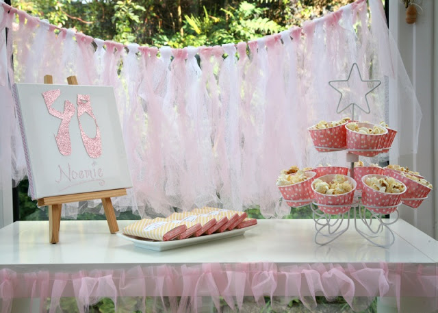 DIY ballet birthday party