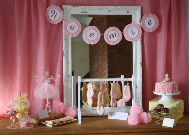 beautiful ballerina party tutorials