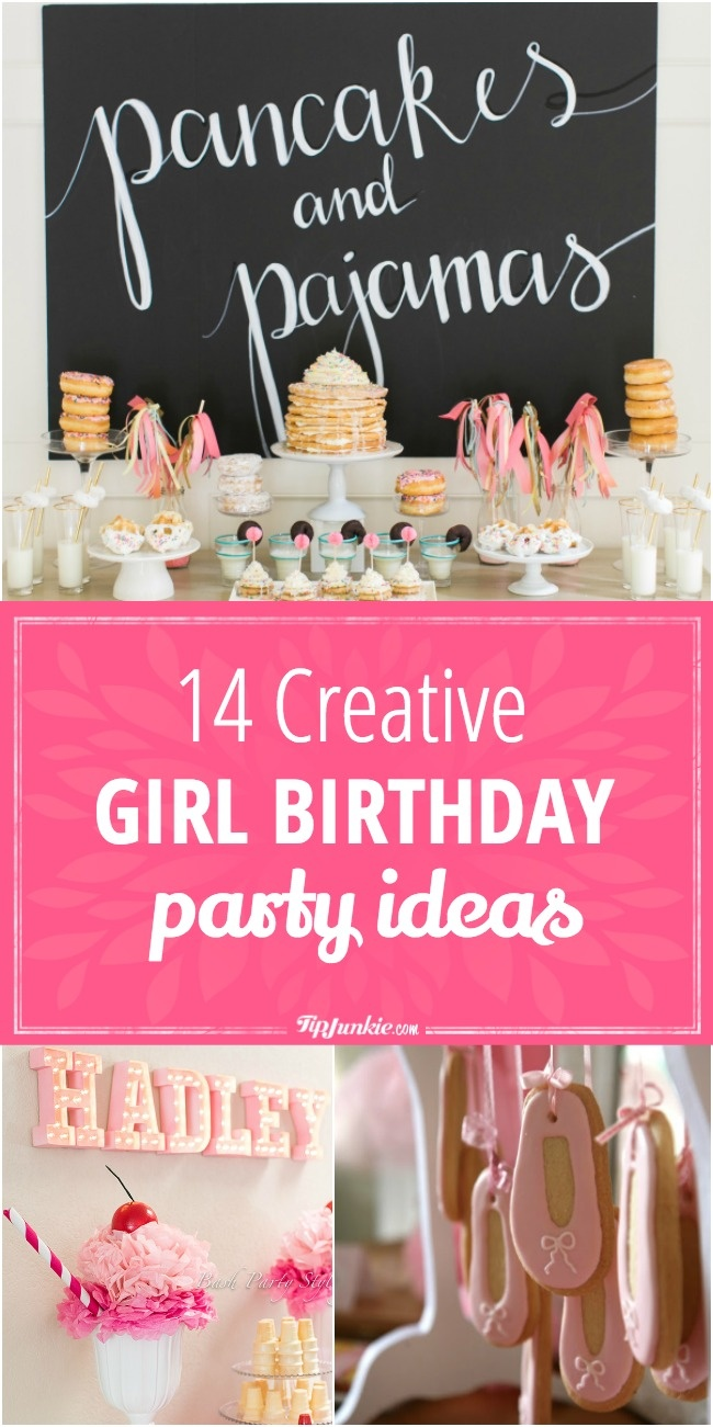 14 Creative birthday party ideas your daughter will love!
