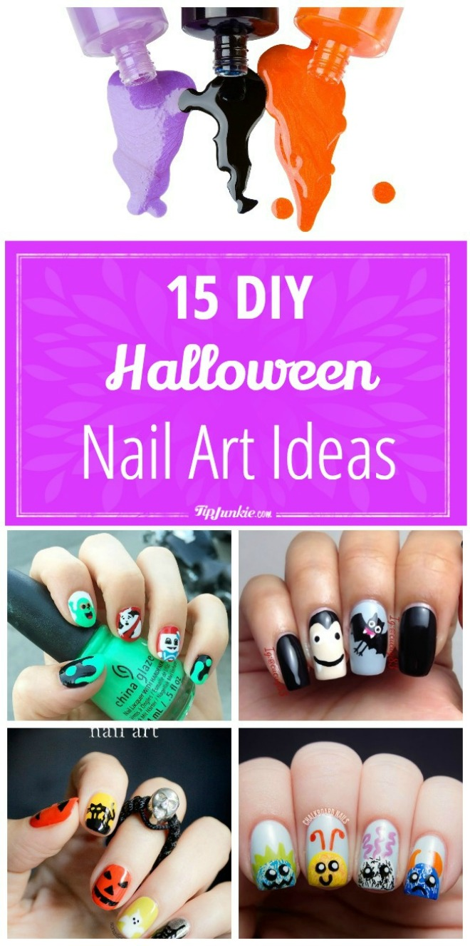 15 DIY Halloween Nail Art Ideas