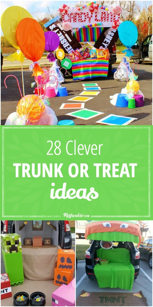 28 Clever Trunk or Treat Ideas kids will love!