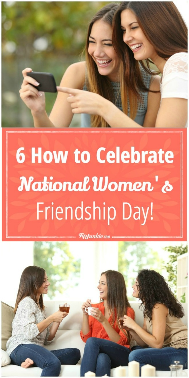 Celebrate National Women's Friendship Day with us!