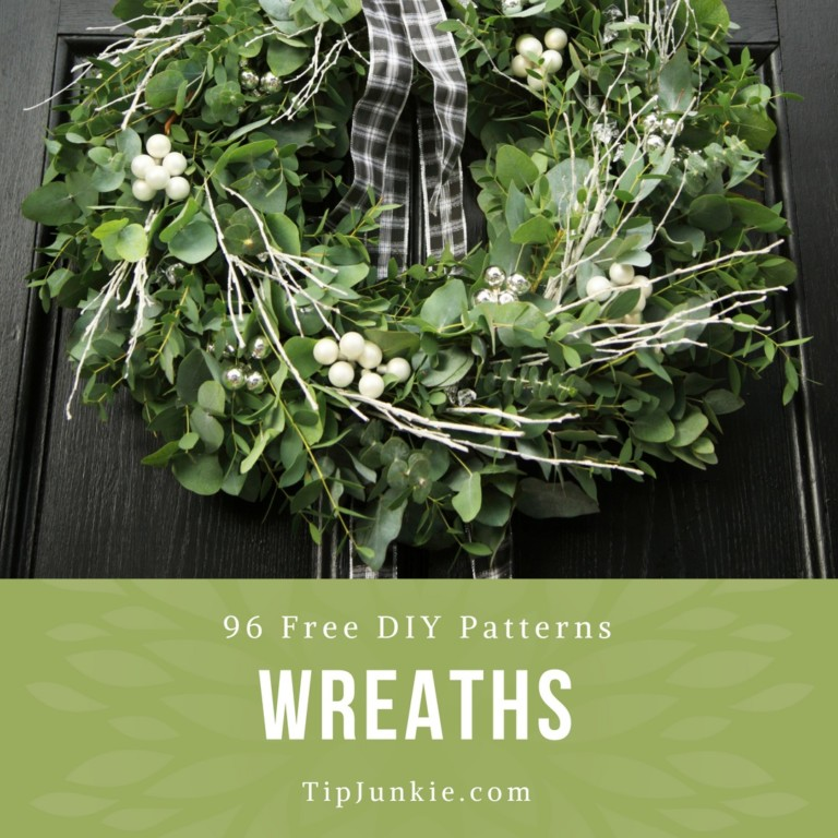 96 Beautiful DIY Wreaths To Make