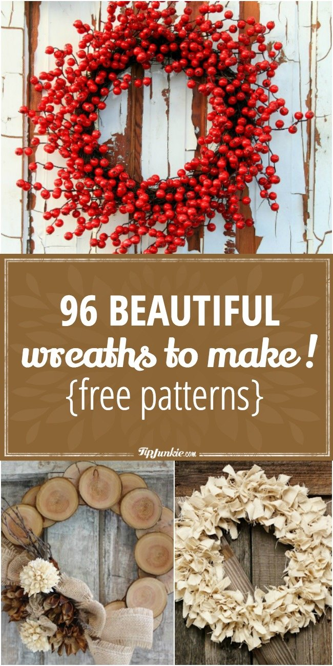 96 beautiful wreaths to make