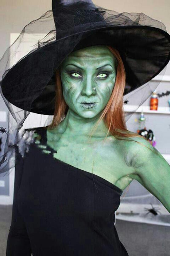 makeup for witch costume
