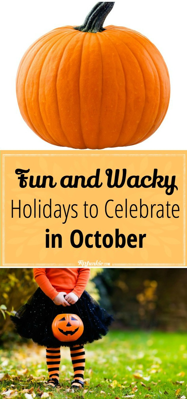 WACKY OCTOBER HOLIDAYS