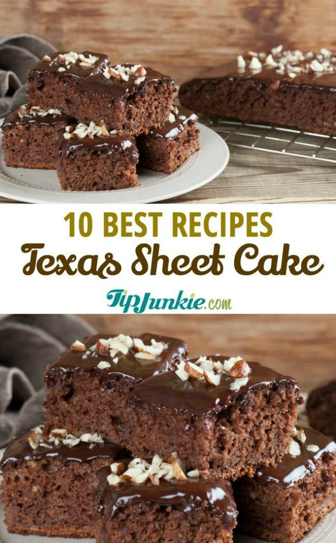 10 Best Texas Sheet Cake Recipes Tip Junkie
