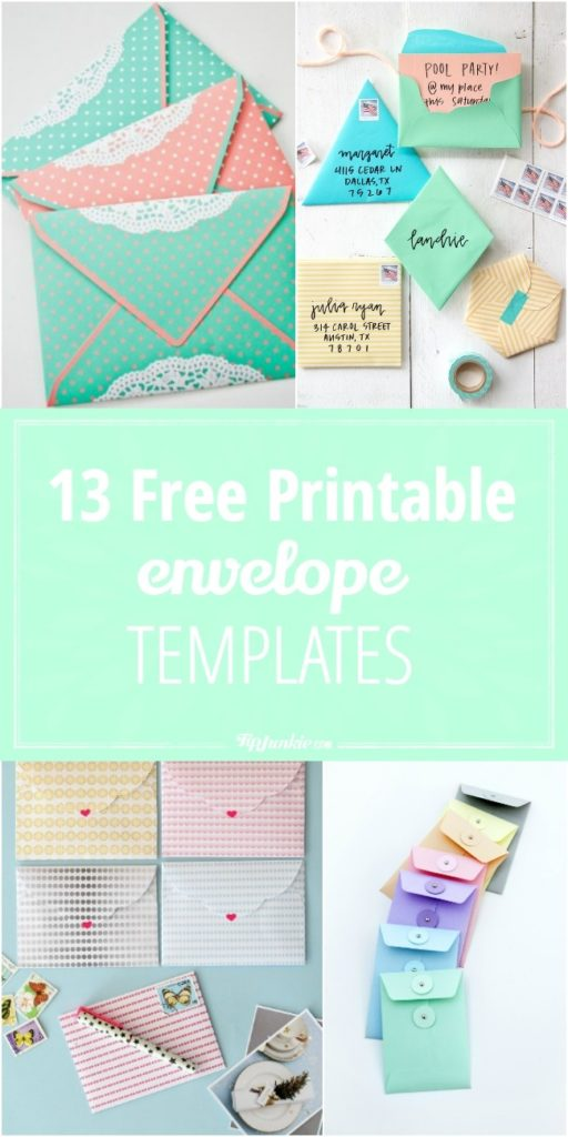Free Printable Envelope Templates