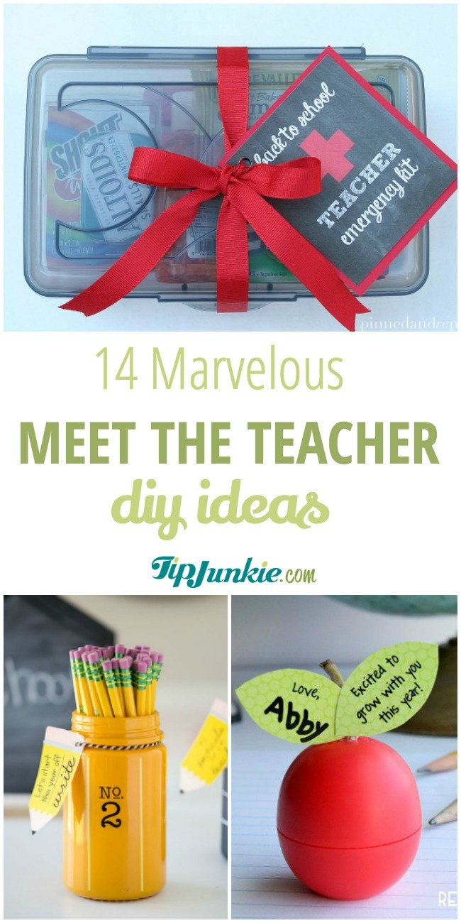 DIY Meet the Teacher Ideas