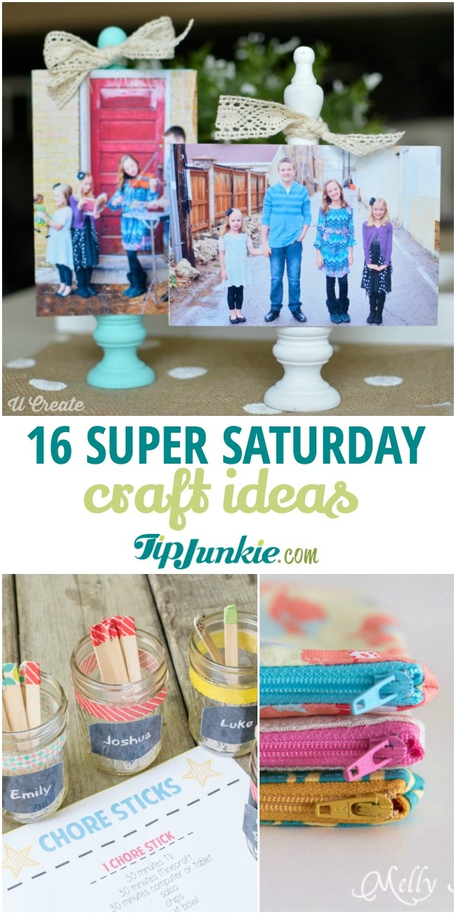 Cheap Super Saturday Craft Ideas