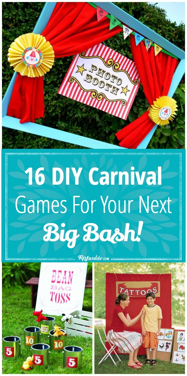 DIY Carnival Games For Your Next Big Bash!