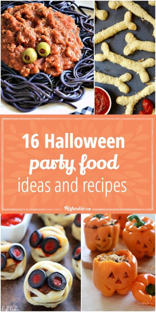 Halloween Party Food Ideas and Recipes