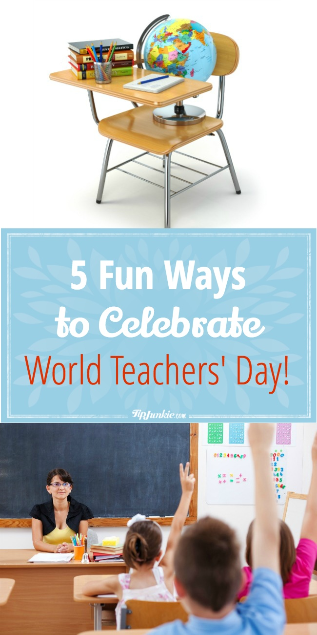 Celebrate teacher for World Teacher's Day!