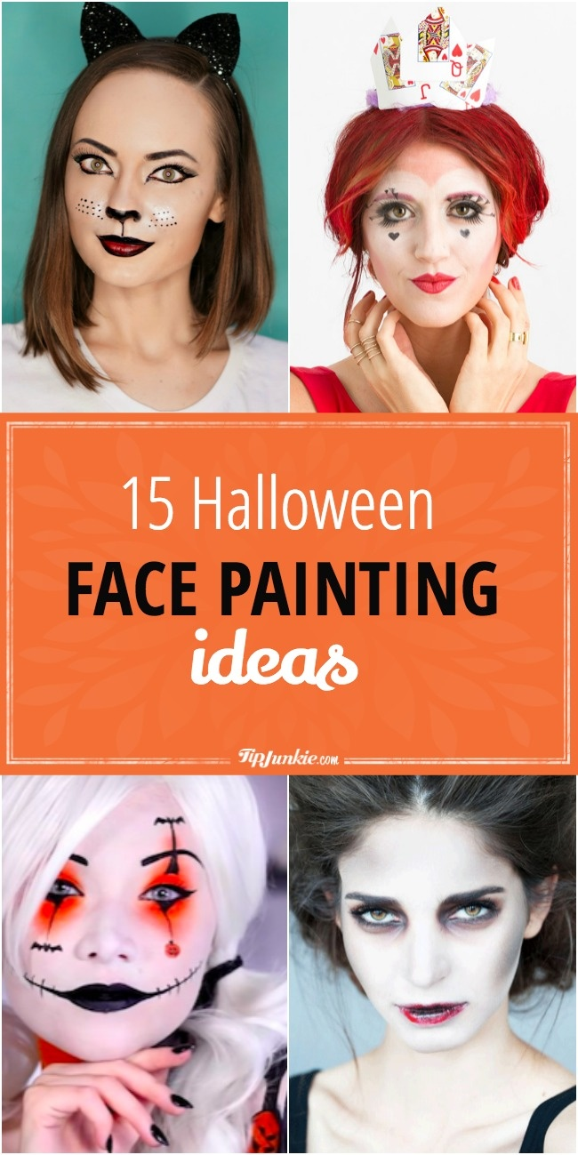 Halloween face painting ideas perfect for the whole family!