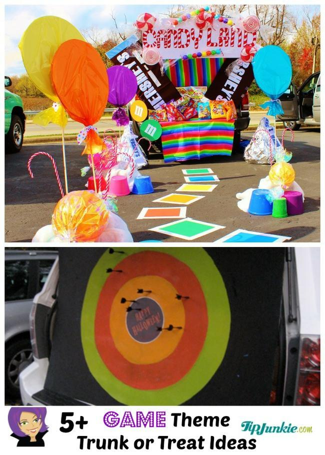 Game Themed Trunk or Treat Ideas