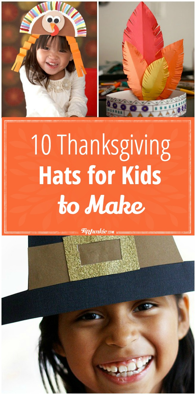 10 Thanksgiving Hats for Kids to Make