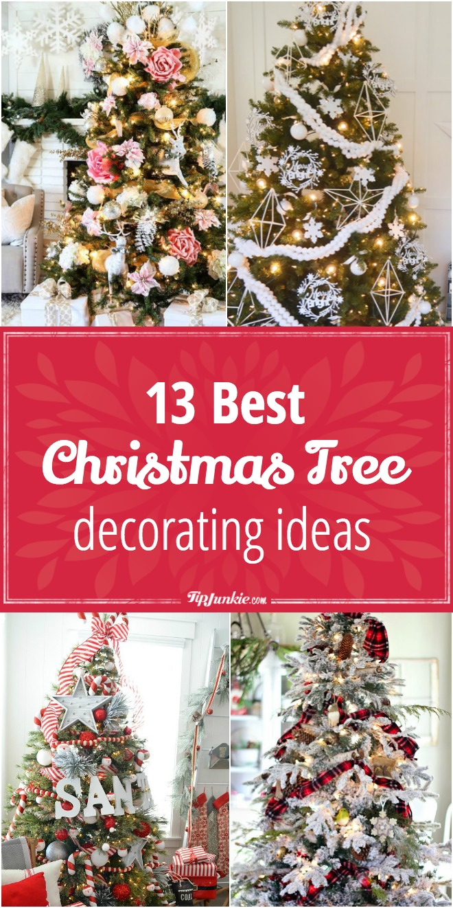 13 best christmas tree decorating ideas - Best Christmas Decorating Ideas