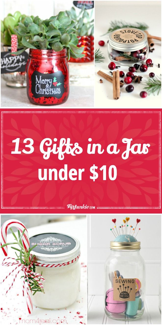 13 Gifts in a Jar under $10