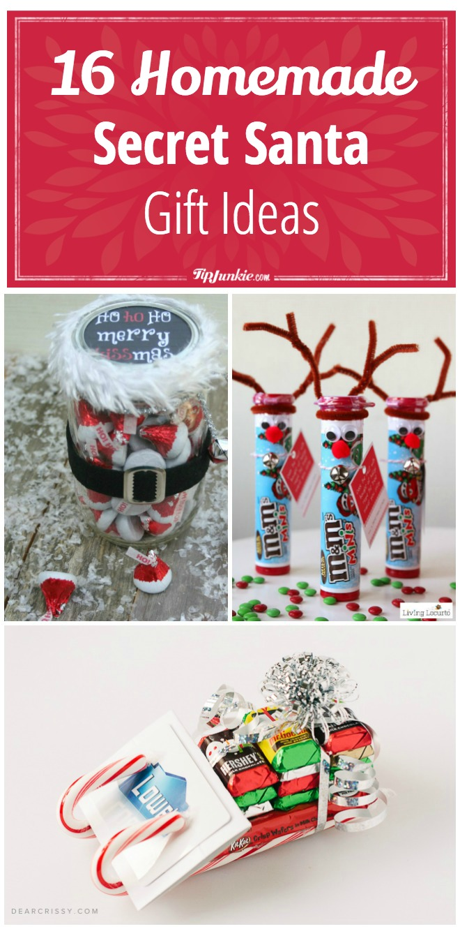 16 Homemade Secret Santa Gift Ideas