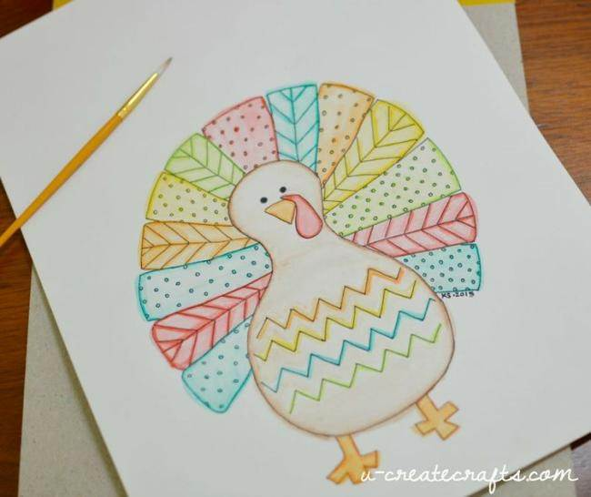 fall-turkey-coloring-page