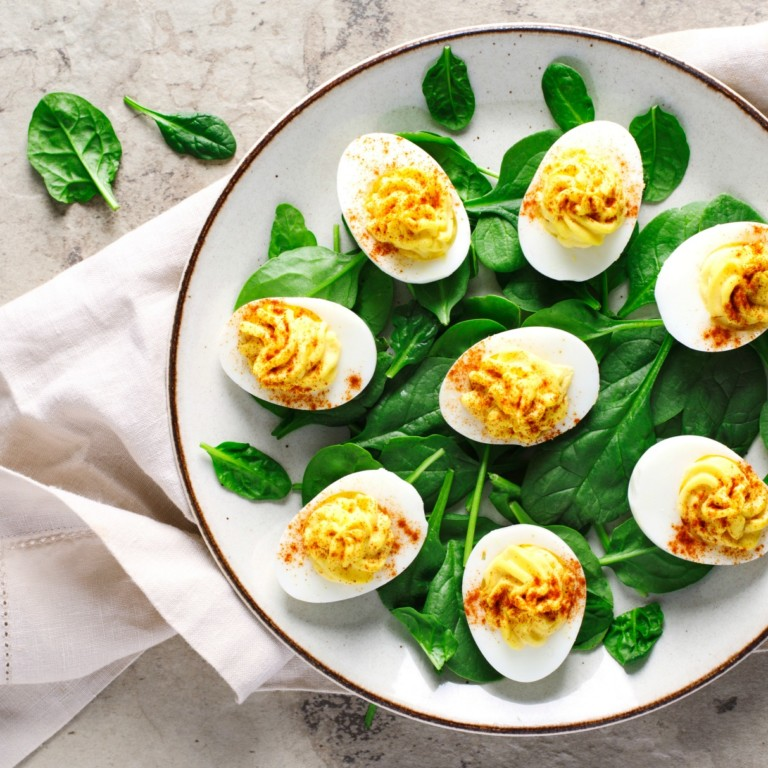 How do you make deviled eggs with hard-boiled eggs