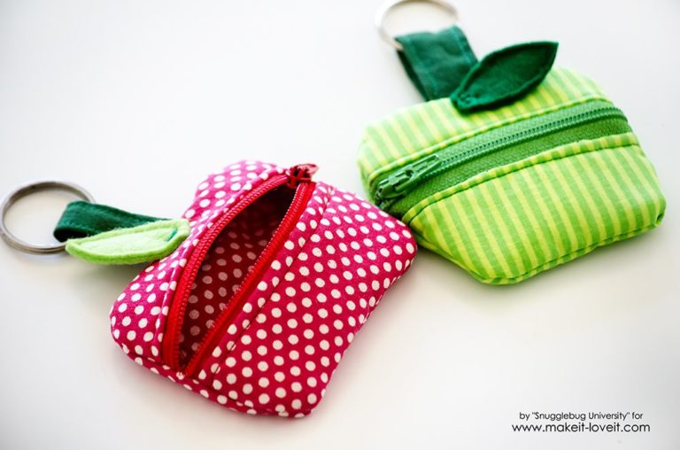 lunch money zippered pouch
