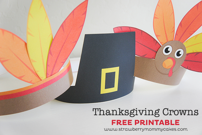 thanksgiving hat printables